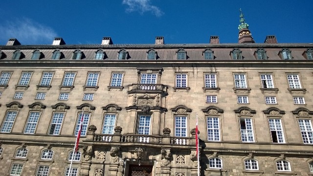 The Finance Bill will be discussed and passed at Christiansborg, the Danish parliament.