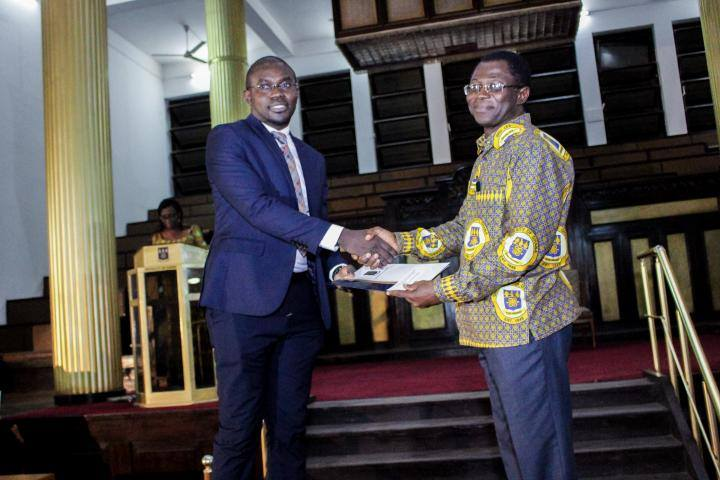 Danida alumni Dr. Seth Kwabena Amponsah receives University of Ghana Vice-Chancellor's Award for the Outstanding Doctoral Dissertation in the Sciences for his PhD thesis