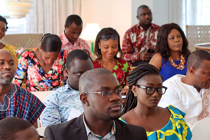 Danida Alumni Network Ghana meeting at the Danish Embassy in Accra 28. January 2017. Photo: Danish Embassy, Accra