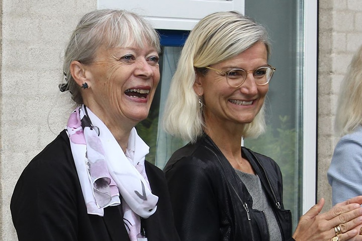 Director, Danida Fellowship Centre, Anne Christensen and Danish Minister of Development, Ulla Tørnæs