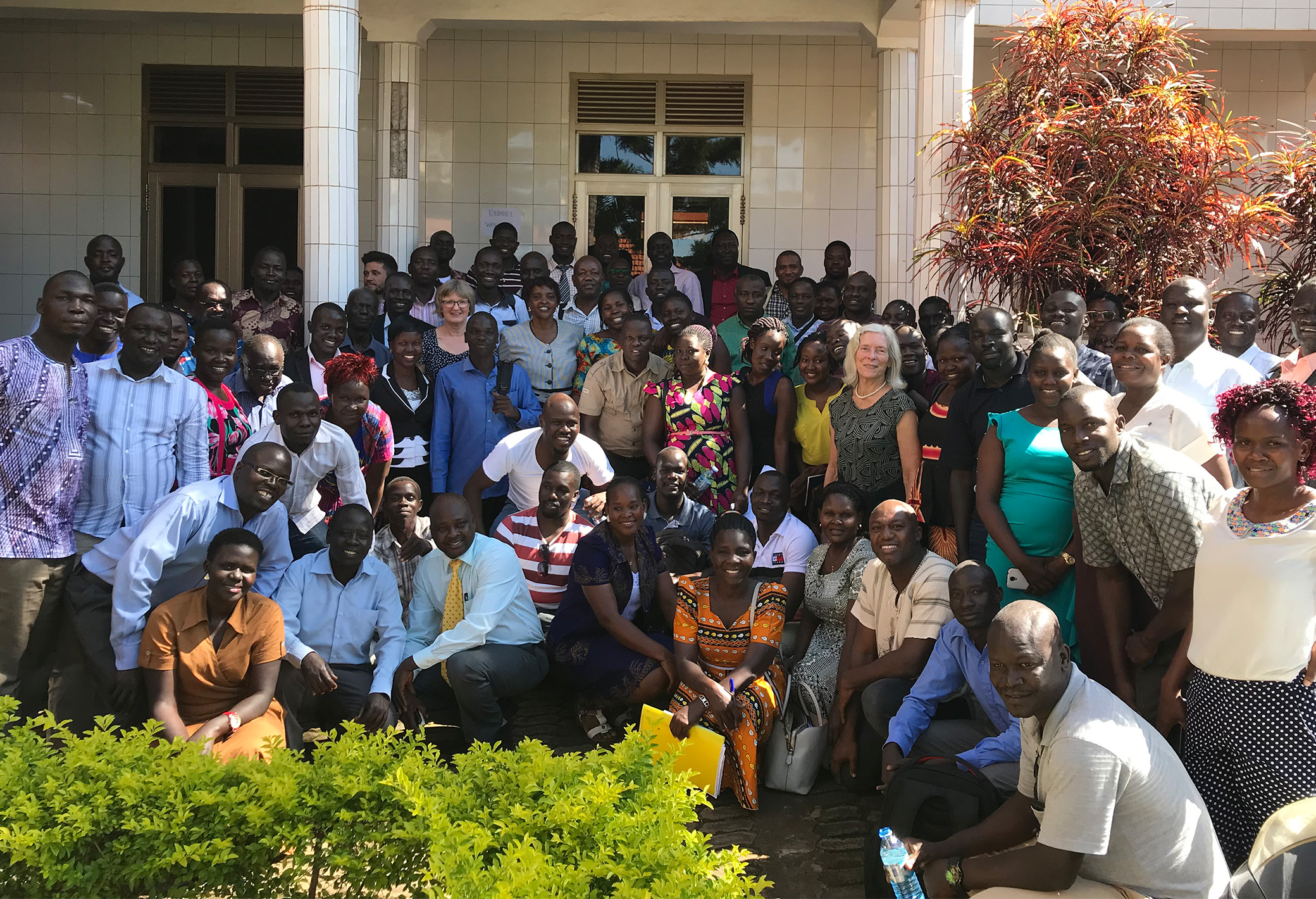 Participants in Problem Based Learning training course, Building Stronger Universities, Gulu University. Photo: Vibeke Quaade