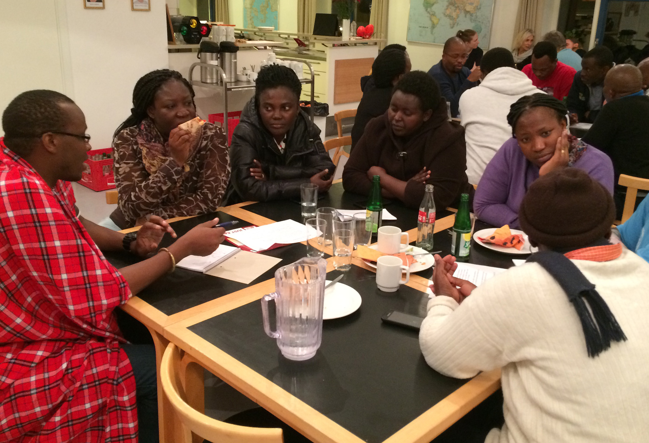 From a workshop at Danida Fellowship Centre in November 2018 with 45 African fellows, who were currently in Denmark. The workshop was part of the retrospective study of the experiences and reflections of African researchers, who has been  involved in Danida funded research capacity building 1989-2019. Photos: Hanne Kirstine Adriansen