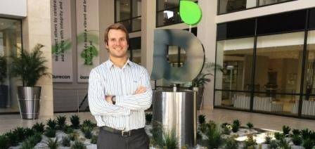 Daniël van Schouwenburg is now working in the multinational company Aurecon after he returned to South Africa.