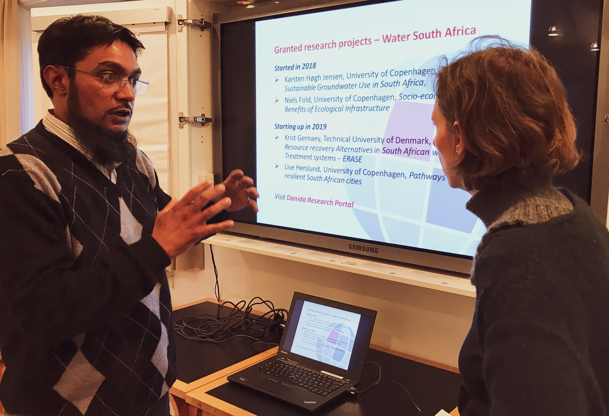On Wednesday 13 March 2019 Danida Fellowship Centre arranged a meeting to connect users and suppliers of knowledge concerning water management in South Africa, Photo: Vibeke Quaade