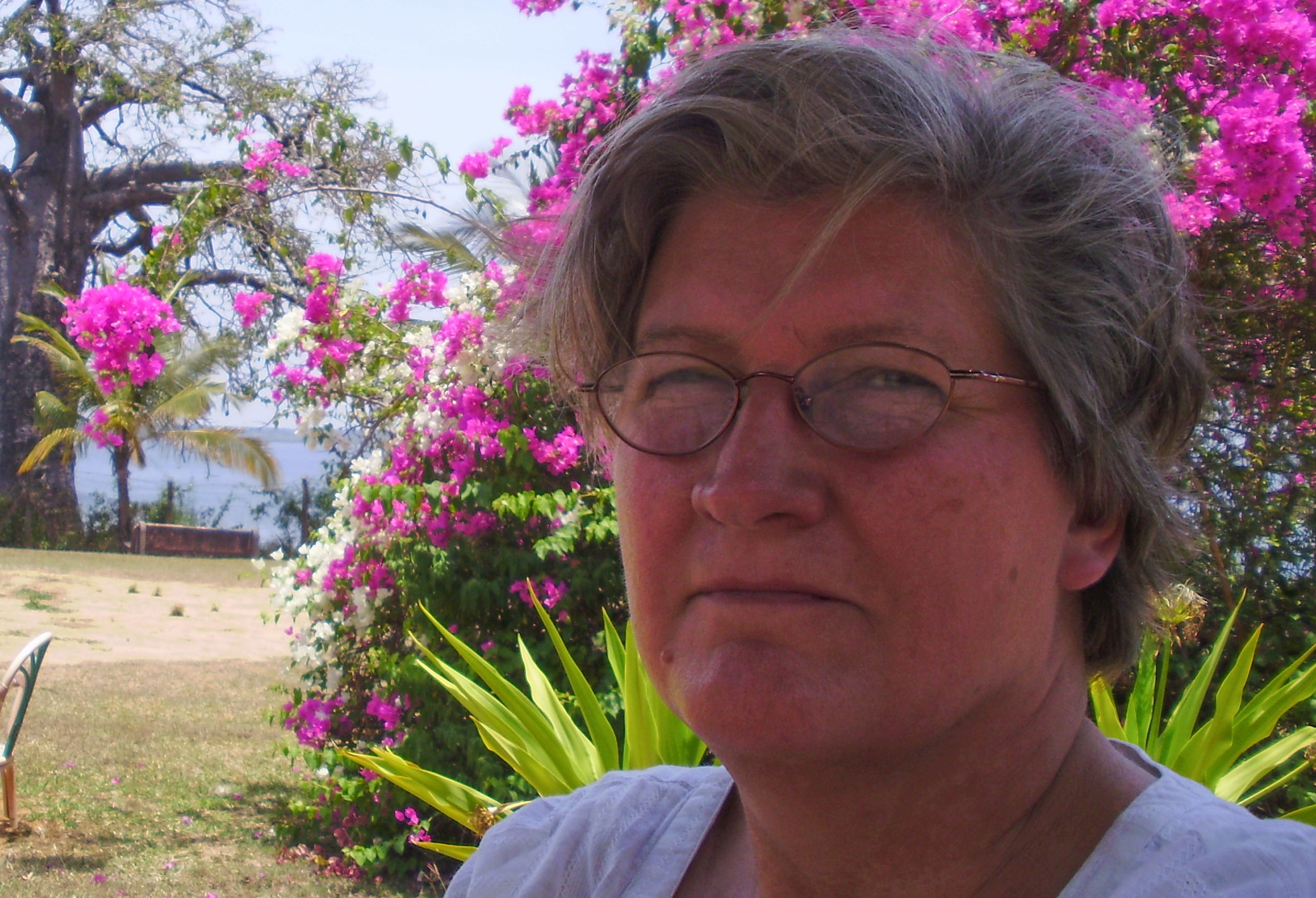 Bente looks forward on spending more time with her and to work as an environmental activist. Private photo.