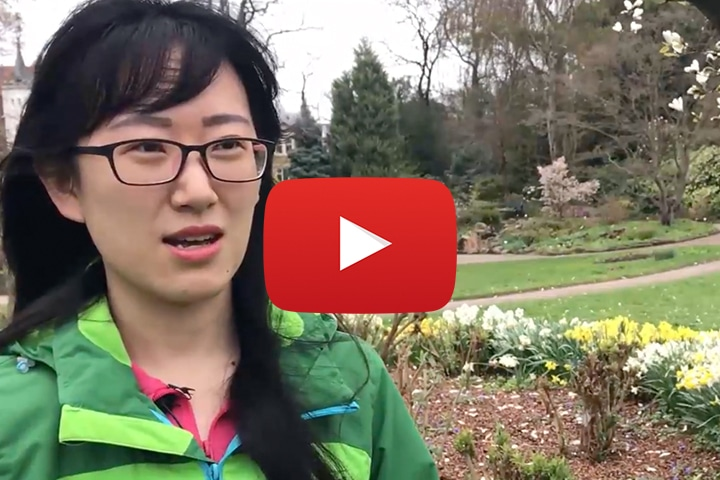 """Watch the video with the """"One Health Course"""" participant Liu Jiameng, Assistant Researcher, Chinese Academy of Agricultural Science"""