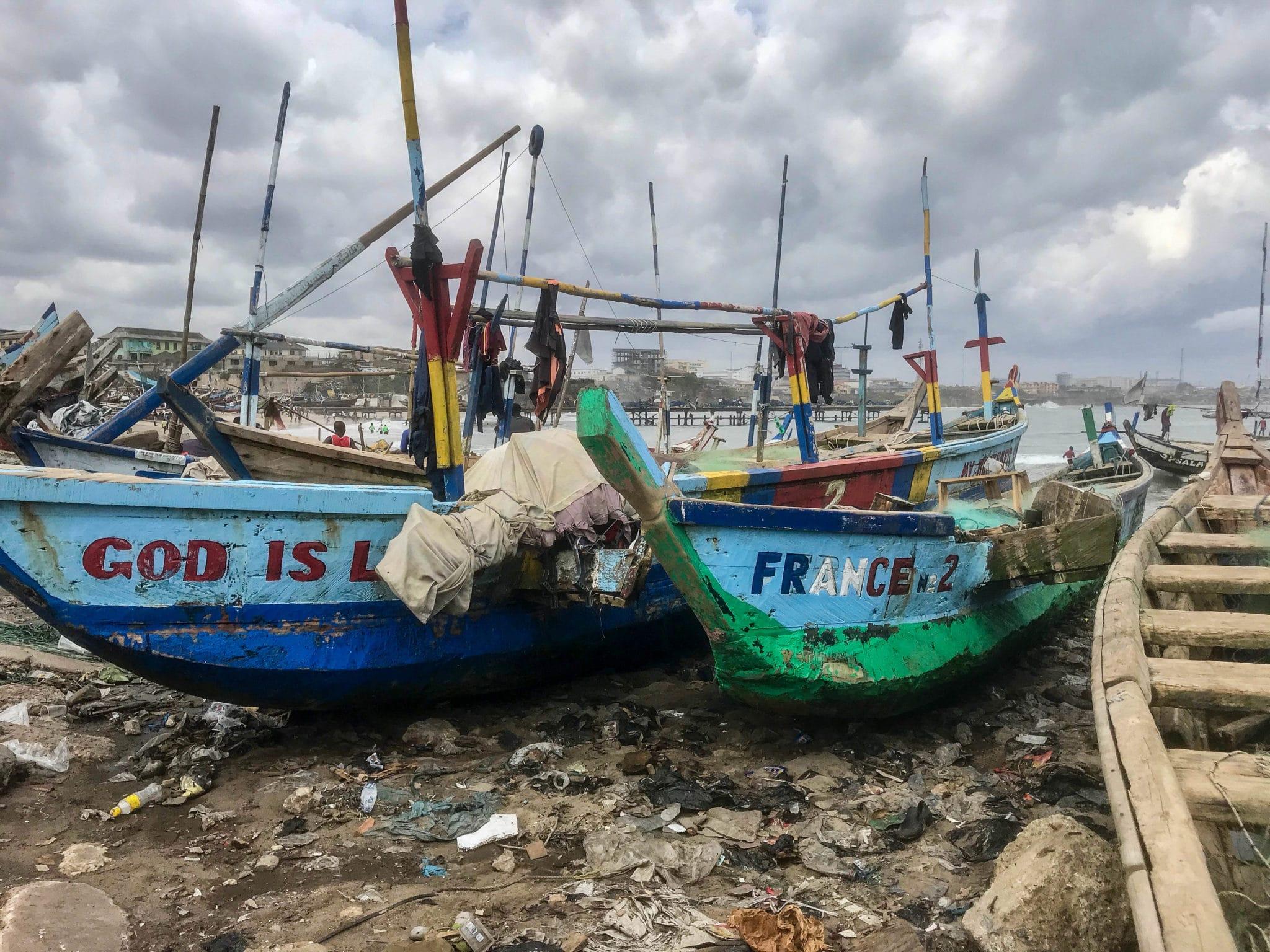 Ghana Canoes, Photo: Alena Thiel